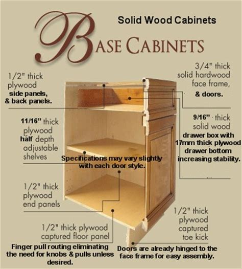 kitchen cabinet construction details rta all wood cabinet construction specifications