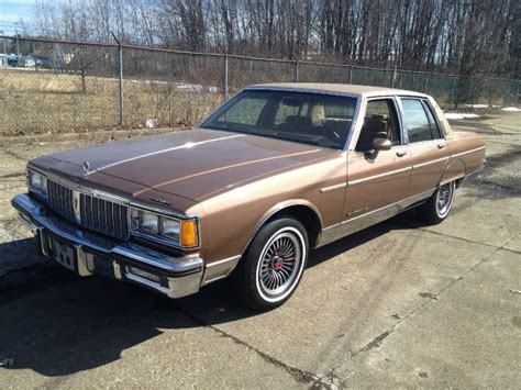 1986 pontiac parisienne brougham classic cars for sale painesville willowick bad credit car