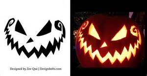 Scary Pumpkin Carving Templates by 1000 Ideas About Scary Pumpkin Carving On