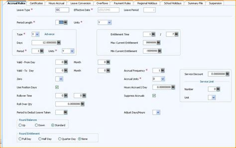 chris21 leave accruals understanding how to configure