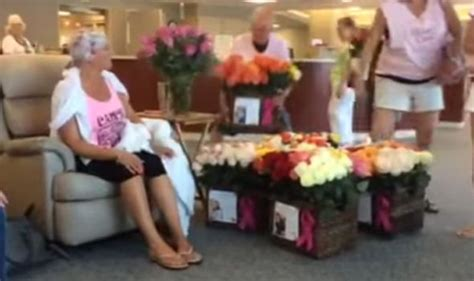 groom leaves his bride stunned with a surprise michael man celebrates wife s final chemo treatment with 500