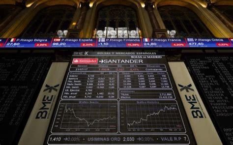 banco santander bolsa de madrid la banca salva con nota siete semanas de v 233 rtigo 191 qu 233 le