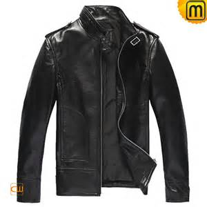 Leather Jacket Mens Mens Black Brown Leather Jackets Cw809508