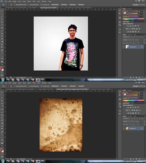 Guess Panah V 8 langkah mudah membuat efek grunge di photoshop