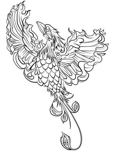 coloring pages phoenix bird phoenix bird coloring pages coloring pages