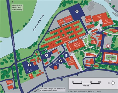 Building Floor Plans campus map national university of ireland galway