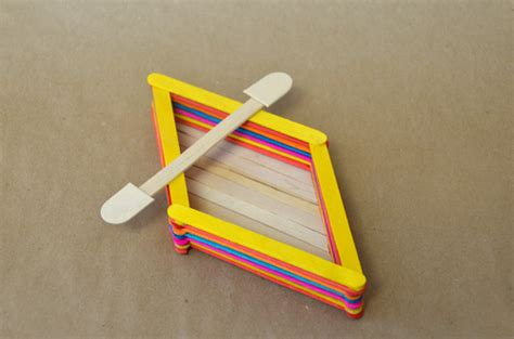 how to make a boat using craft sticks popsicle stick boat craft ideas for kids