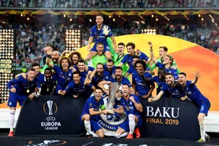 chelsea  arsenal daftar juara liga europapiala uefa