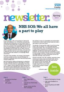 Crawley Clinical Commissioning Group Newsletter Pound Hill North Residents Association Clinical Trial Newsletter Template
