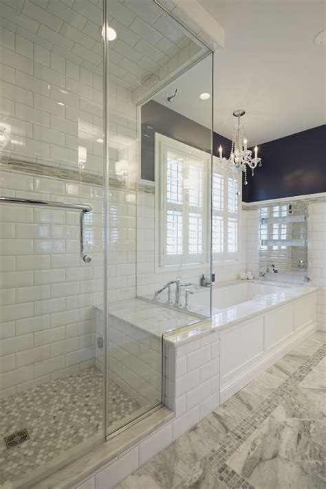 Shower To Bath Benefits Of Glass Enclosed Showers Homesfeed
