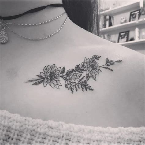 95 best collarbone tattoo designs amp meanings