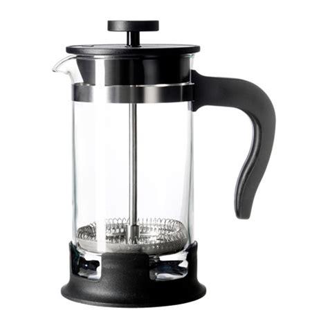 Upphetta 01 Coffeetea Maker Glass Stainless Steel upphetta coffee tea maker glass stainless steel 0 4 l ikea