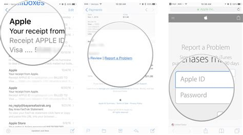 Search Apple Id By Email How To Get A Refund For Itunes Or App Store Purchases Imore