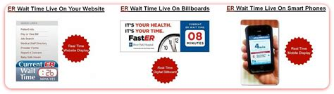 emergency room wait times app faster a new er wait time app brentwood communications