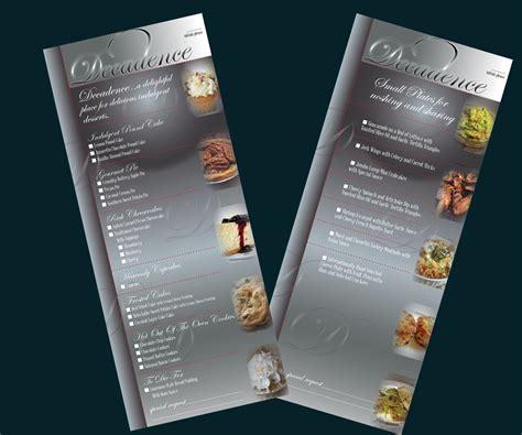 design dessert menu modern professional menu design for robin franklin by id