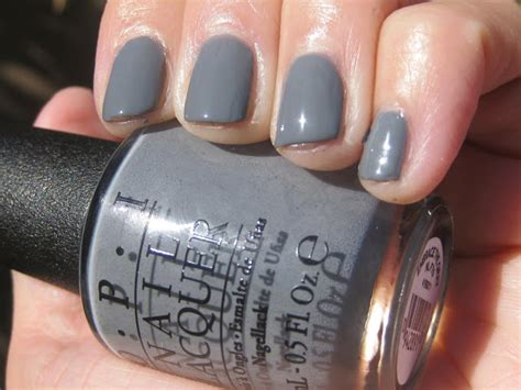 opi grey nail polish names opi fifty shades of grey collection swatches review the