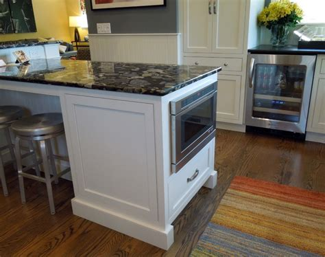Microwave Drawer Uk by Microwave Drawer And Beverage Center Traditional