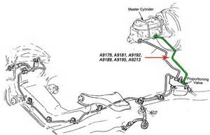 A9189 chevy master cylinder brake line diagram on 69 firebird wiring diagram