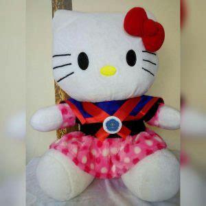 Boneka Wisuda Elmo jual boneka wisuda hello pooh doraemon murah 081