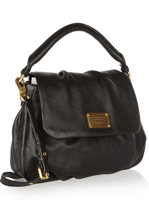 marc by marc marc by marc classic q lil ukita textured leather