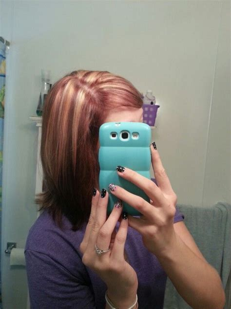 mahogany red hair with high lights pinterest discover and save creative ideas