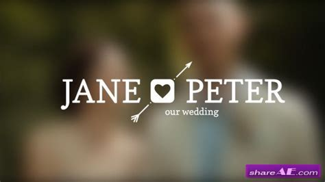 Videohive Wedding Titles 187 Free After Effects Templates After Effects Intro Template Shareae Wedding Intro Templates Free