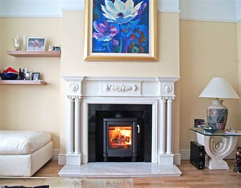 open gas l reproduction open gas fireplace with marble hearth and