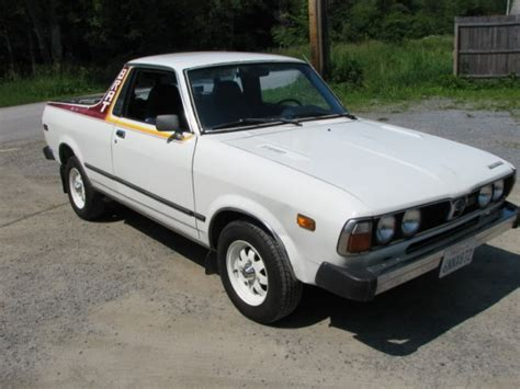subaru brat for sale transplanted 1980 subaru brat bring a trailer