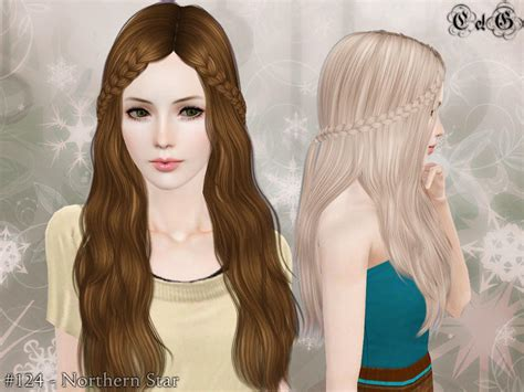 hair color to for sims 3 cazy s northern star hairstyle set