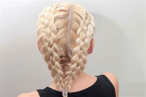 cute hairstyles for long hair for kids and for 8 year oldsfor short hair 9 quick and easy hairstyles for kids with long hair