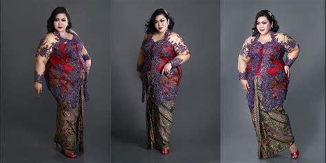 Kebaya Gaun Mahany Maroon Gaun Pesta 17 model kebaya brokat untuk orang gemuk terbaik