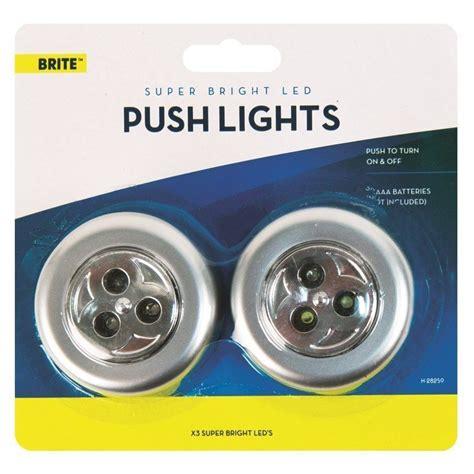 Stick Click Led Push Lights Self Adhesive Battery Led Self Adhesive Lights