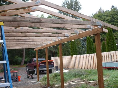 anchor roofing brendan lean to carport build the garage journal board shed