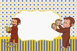 curious george free printable invitations parties free cute