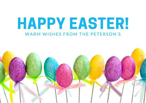 easter greeting card template customize 62 easter card templates canva