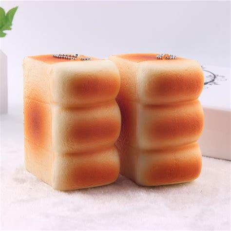 Mainan Squishy Magnit Tipe 4 Bread Breadou Kawaii Squishy Bread Buns Labels Squishies