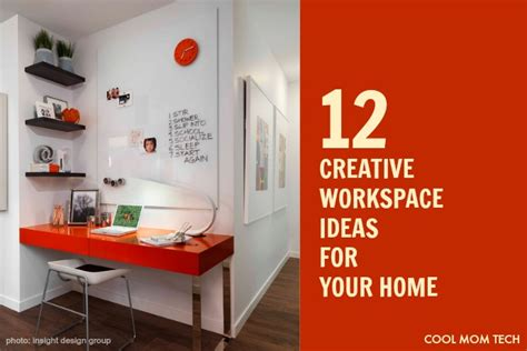 cool creative workspace ideas for your home