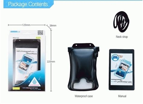 Dicapac Wp C2 New Waterproof For Smartphone Up To 5 7 jual dicapac wp c2 black waterproof for smartphone masdoni