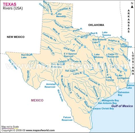 texas rivers map 301 moved permanently