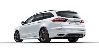 Ford Mondeo Ford Expands Sporty St Line Range With New Mondeo St Line