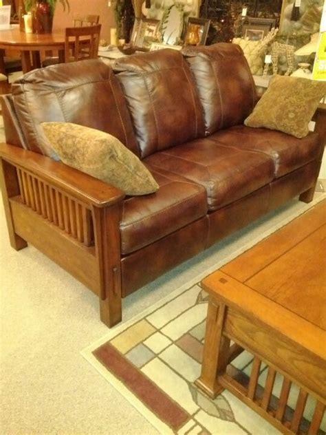 mission leather sofa sofa design