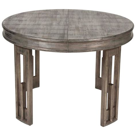 Silver Leaf Dining Table Silver Leaf Dining Table By Mont For Sale At 1stdibs