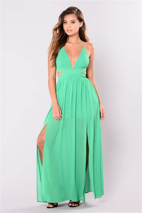 Grosir Baju Maxy Dress D all summer maxi dress green