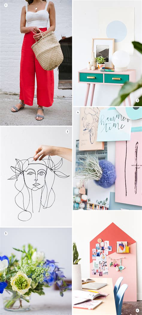 7 Styles To Try This Weekend by Paper And Stitch Inspiration For Your Diy