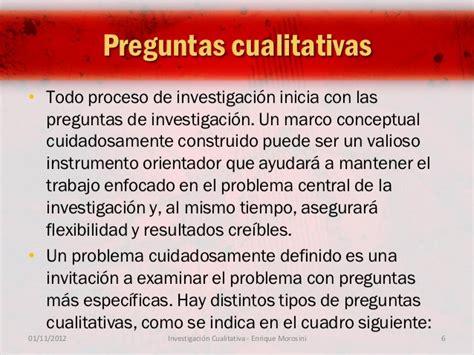preguntas de investigacion cualitativa dise 241 o y t 233 cnicas de investigaci 243 n cualitativa