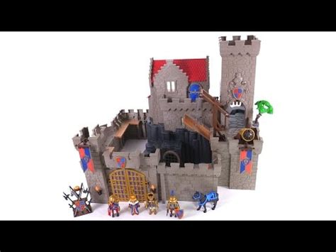 Playmobil Hawk Knights Castle Set playmobil royal knights castle review new set 6000