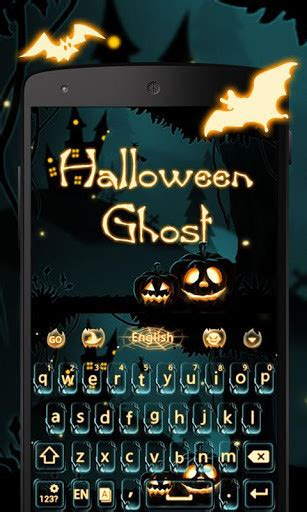 halloween keyboard themes halloween ghost keyboard theme for android free download