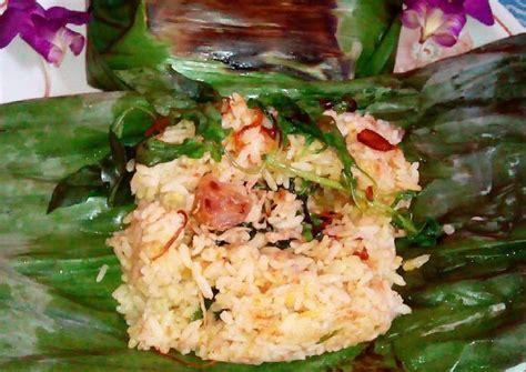 resep membuat nasi bakar teri medan resep nasi bakar jambal teri medan oleh veronica suryati