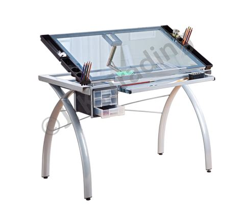 Glass Drafting Table Glass Drafting Table Or Drawing Table Modern Design