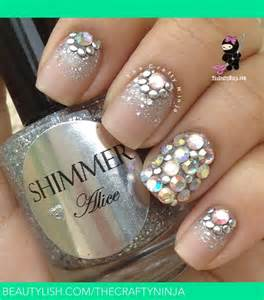 Perfect for a wedding or prom nails check out my video tutorial http